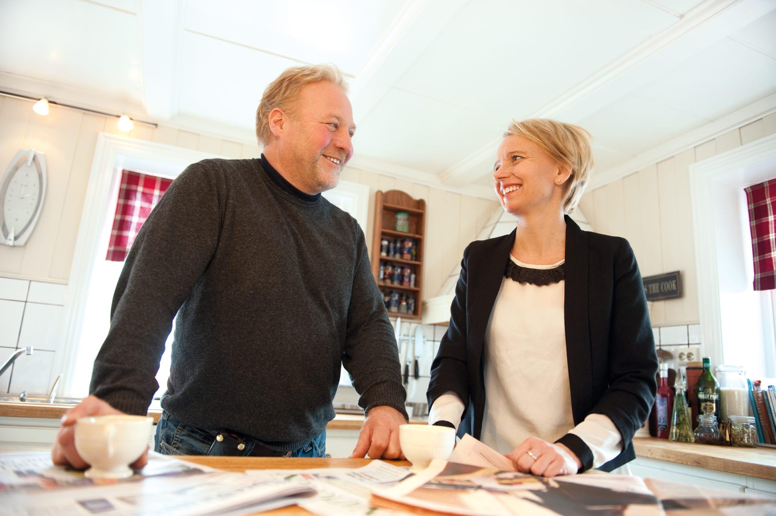 Jonas og Ragnhild Viken